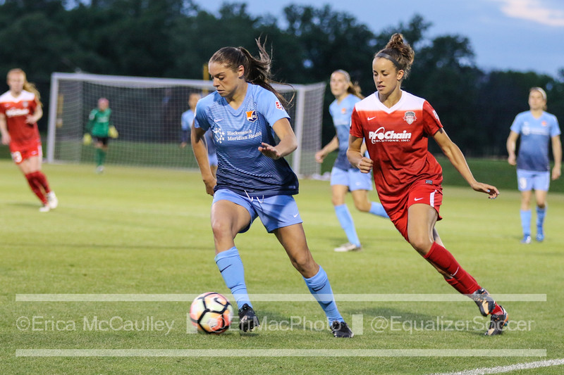 rookies power spirit to 4 1 win over sky blue equalizer soccer