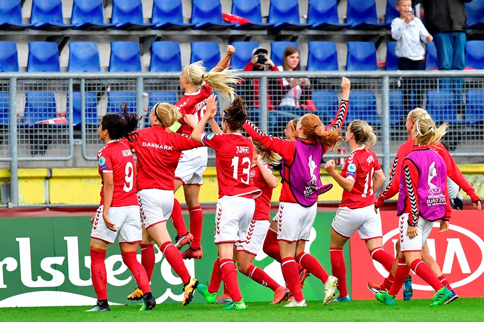 Denmark outlasted Austria and won on penalty kicks to advance to the final. (photo: UEFA)