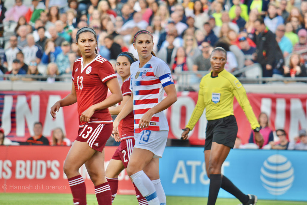 bb2f57df5 Morgan brace highlights USWNT 4-1 win over Mexico – Equalizer Soccer