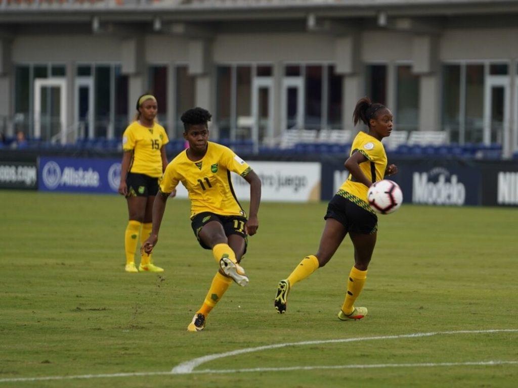 Jamaica Advance To Face Uswnt Canada Eliminates Costa Rica