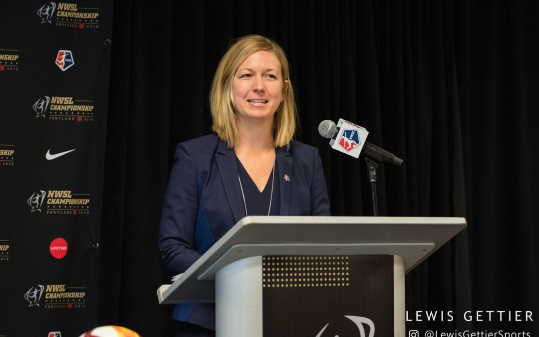 In 2018, where does the NWSL fit in the larger sports landscape?