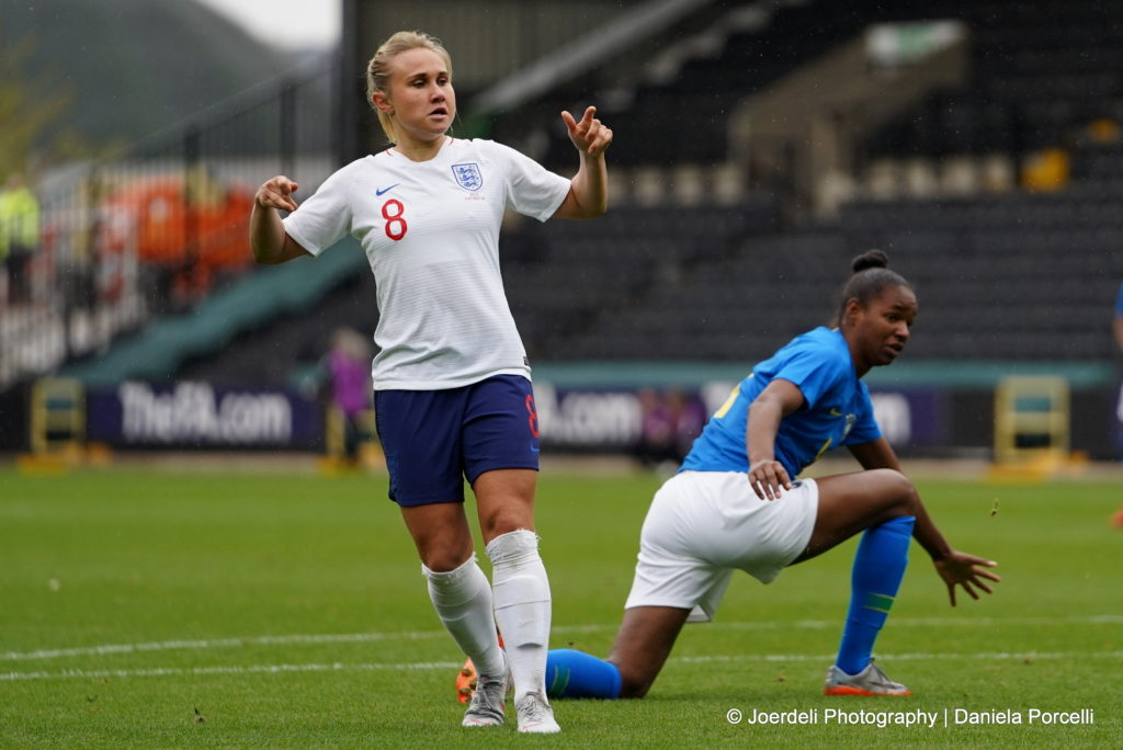Izzy Christiansen gets her big chance with England after