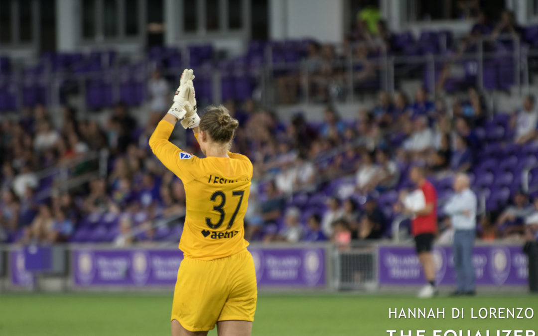 Riley, Carolina Courage give credit to rookie keeper Sam Leshnak