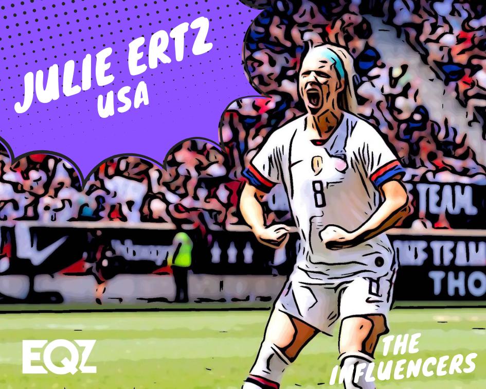 huge selection of e9bf8 29e6f Julie Ertz, USA: 2019 Women's World Cup Influencer ...