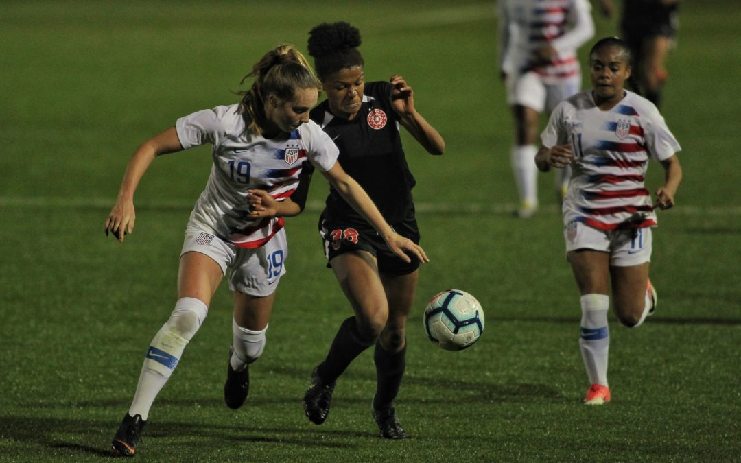 Under the radar: Simone Charley and the NWSL's little-known training players