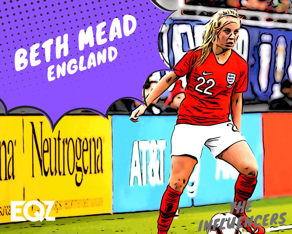 Mead Cup 2020.Beth Mead England 2019 Women S World Cup Influencer