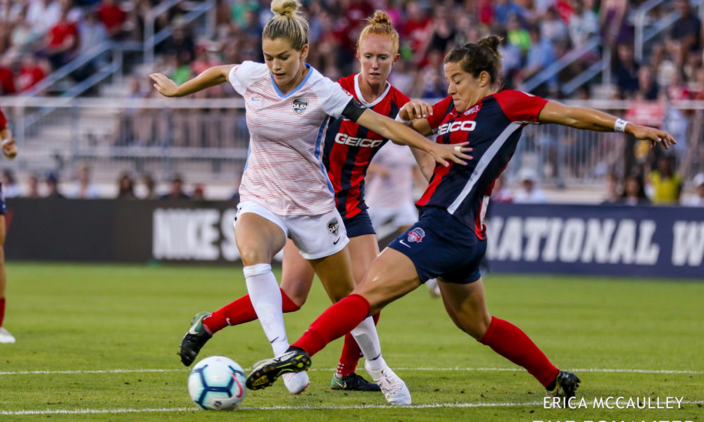 The Lowdown: The NWSL table is starting to split