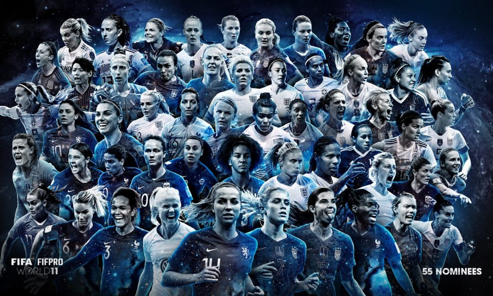 14 USWNT players in contention for FIFA FIFPRO Women's World 11