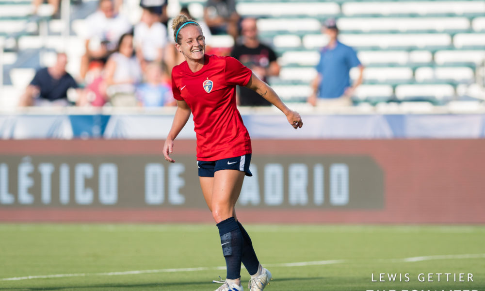 Kristen Hamilton debuts in another USWNT win over Portugal