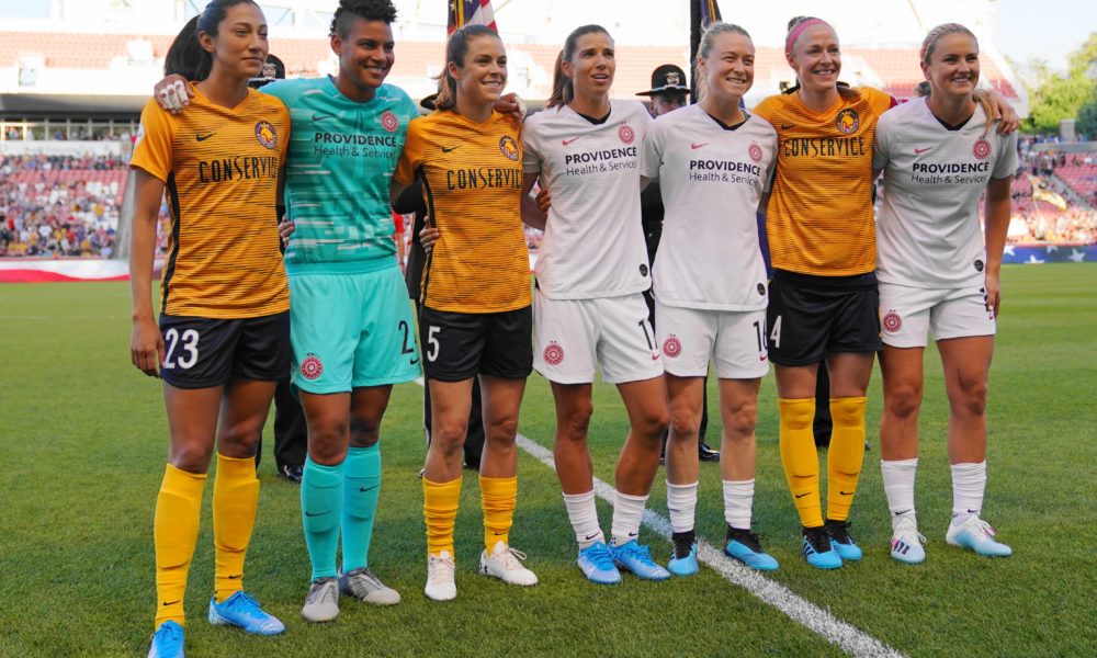 NWSL players, Adrianna Franch's teammates speak out against allegations of racism