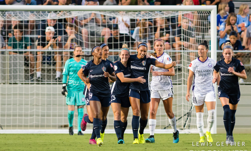 NWSL Saturday: HAO scores in celebration as Courage glide past Pride