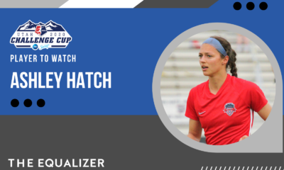 Ashley Hatch NWSL Challenge Cup