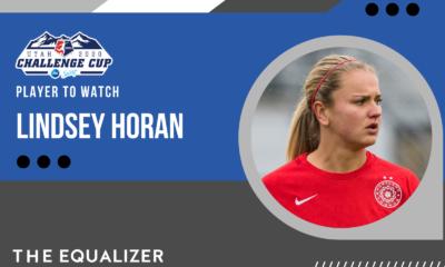 Lindsey Horan NWSL Challenge Cup