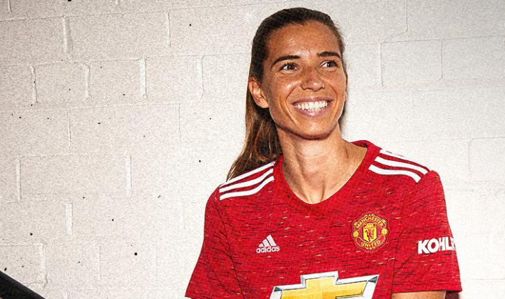 Tobin Heath in a Manchester United kit is a big moment by any standards –  Equalizer Soccer