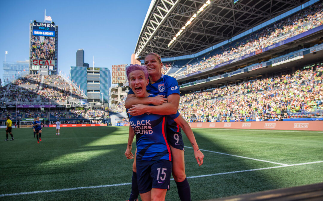 NWSL Results: Reign beat Thorns in front of record breaking crowd; Pride top Gotham; Spirit and Courage draw; Dash defeat Racing