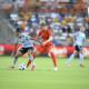 Houston Dash midfielder Sophie Schmidt